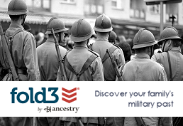 soldiers waiting in the streets captioned fold3 by ancestry.  Discover your family's military past.