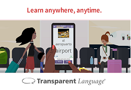 Learn anywhere, anytime Transparent language