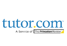 Tutor.com A service of The Princeton Review