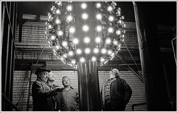 The original New Year's Eve ball used in Time Square